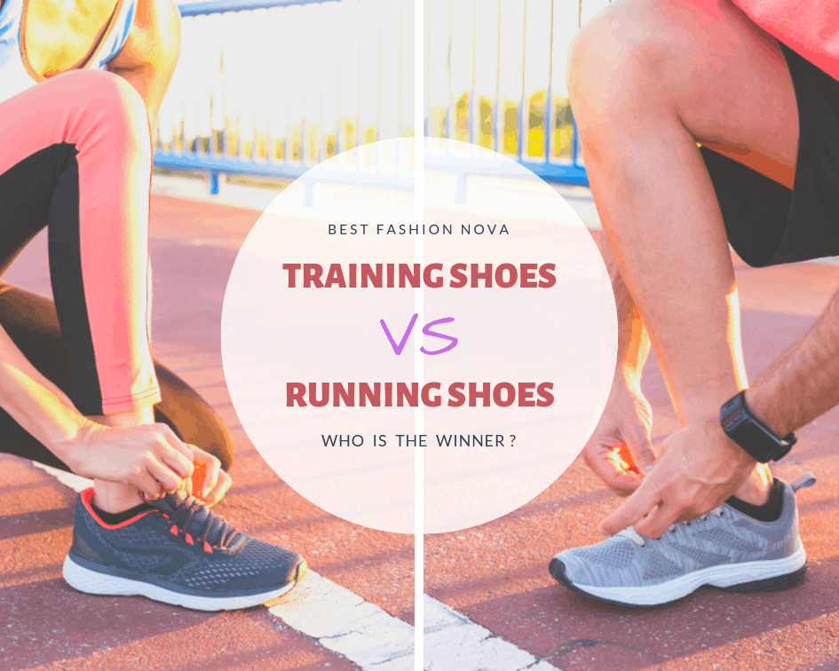 training shoes vs running shoes